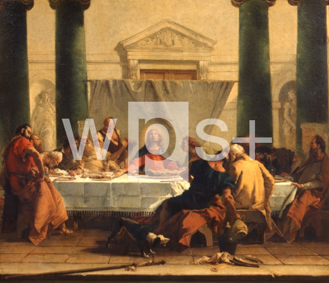 TIEPOLO Giovanni Battista|最後の晩餐