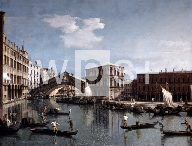 CANALETTO (Antonio Canal)|リアルト橋