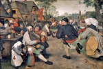BRUEGHEL Pieter 'The Elder'|農民の踊り