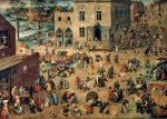 BRUEGHEL Pieter 'The Elder'|子供の遊戯