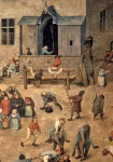 BRUEGHEL Pieter 'The Elder'|子供の遊戯(部分)