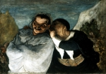 DAUMIER Honore|クリスパンとスカパン