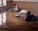 CAILLEBOTTE Gustave|床に鉋をかける人々