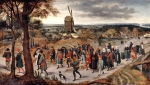 BRUEGHEL Pieter 'The Younger'|結婚の行列